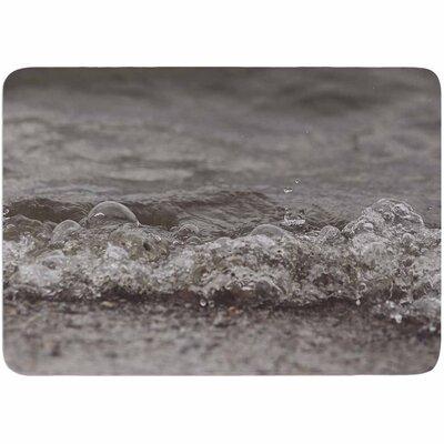 Angie Turner Beach Bubbles Memory Foam Bath Rug