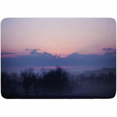 Angie Turner Purple Sunrise Memory Foam Bath Rug