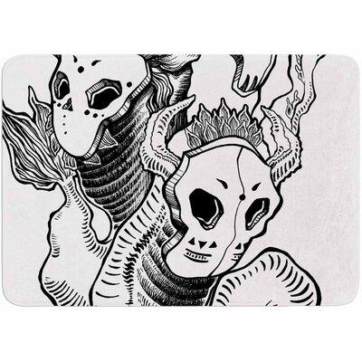 Anya Volk Masks Memory Foam Bath Rug