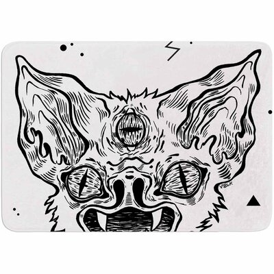 Anya Volk Its Bat Memory Foam Bath Rug