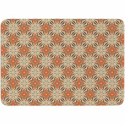 Mayacoa Studio Geometric Tile Memory Foam Bath Rug