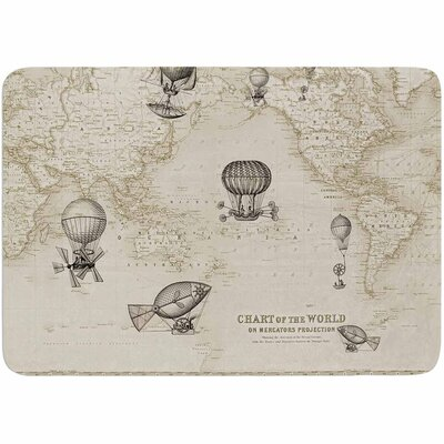 Catherine Holcombe The Southern Route Memory Foam Bath Rug