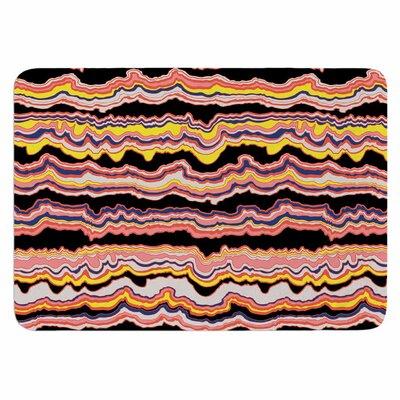 DLKG Design Expressive Lines Memory Foam Bath Rug