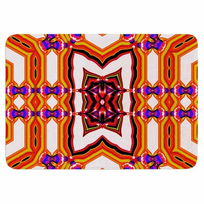 Dawid Roc Inspired By Psychedelic Art 4 Memory Foam Bath Rug