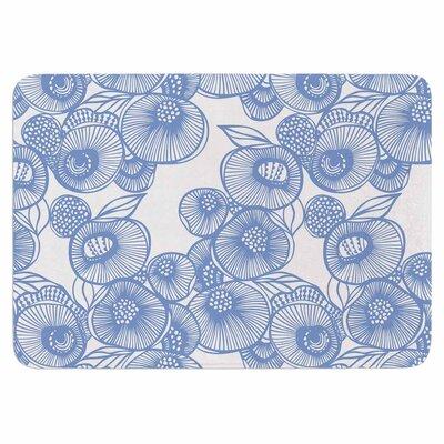 Gill Eggleston Fenella Floral Memory Foam Bath Rug