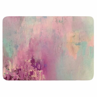 Geordanna Fields Serene Nebula Memory Foam Bath Rug
