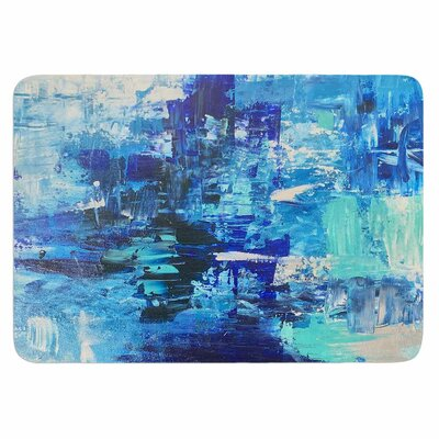 Geordanna Fields Walked on Water Memory Foam Bath Rug