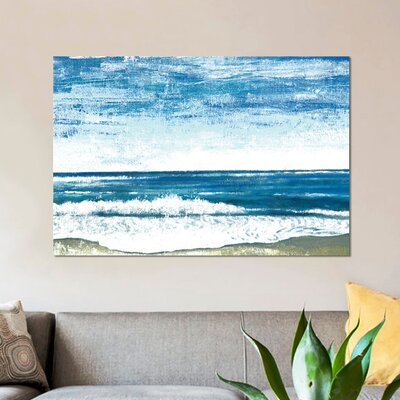 'The Sound of Waves' Print on Canvas URBH6960 38301037