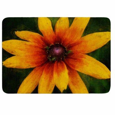Ginkelmier Wildflower in Sun Memory Foam Bath Rug