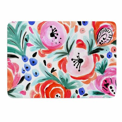 Crystal Walen Boho Morning Glory Memory Foam Bath Rug
