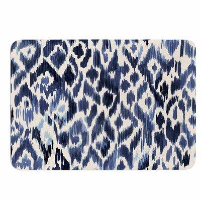 Crystal Walen Leopard Tribal Memory Foam Bath Rug