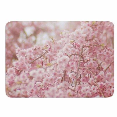 Debbra Obertanec Spring Pinks Memory Foam Bath Rug
