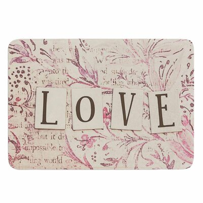 Debbra Obertanec Simply Love Memory Foam Bath Rug