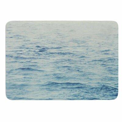 Debbra Obertanec Foggy Morning Ocean Memory Foam Bath Rug