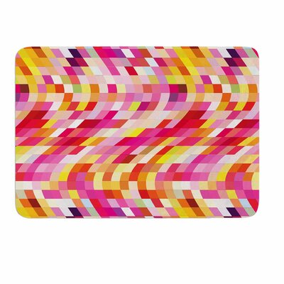 Dawid Roc Colorful Geometric Movement 2 Memory Foam Bath Rug