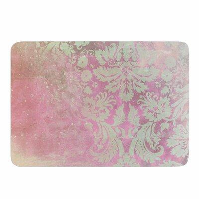Cafelab Spring Damask Memory Foam Bath Rug