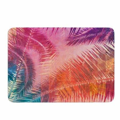 Cafelab Pop Tropical Memory Foam Bath Rug