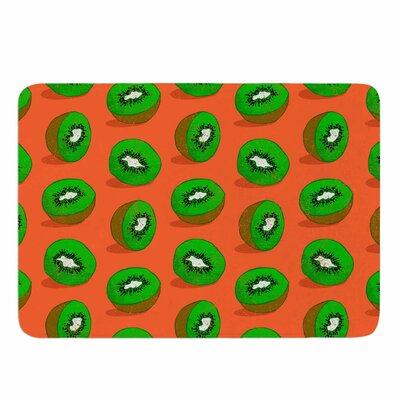 Evgenia Kiwifruit Memory Foam Bath Rug