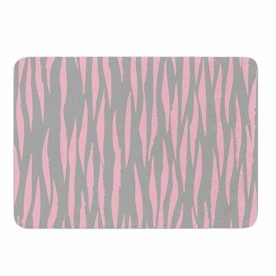 Wildlife Pink Animal Print 12 Memory Foam Bath Rug