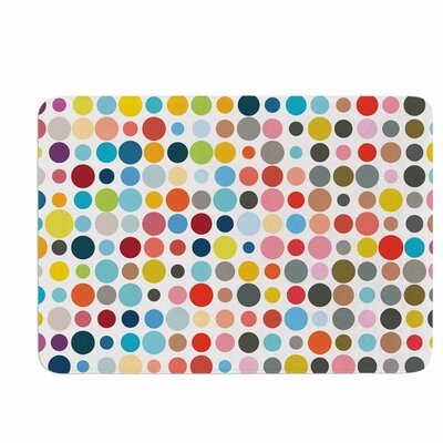 Fimbis Tangled up in Color Memory Foam Bath Rug