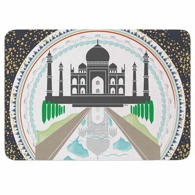 Famenxt The Taj Mahal India Memory Foam Bath Rug