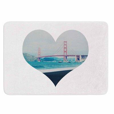 Chelsea Victoria San Francisco Love Memory Foam Bath Rug
