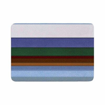 Ivan Joh Alaska Memory Foam Bath Rug Size: 0.5 H x 17 W x 24 D