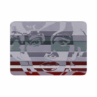 Ivan Joh Star Monroe Memory Foam Bath Rug Size: 0.5 H x 17 W x 24 D