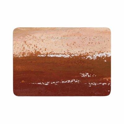 Iris Lehnhardt Cinnamon Chai Painting Memory Foam Bath Rug Size: 0.5 H x 17 W x 24 D