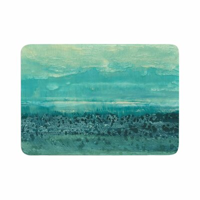 Iris Lehnhardt Oceanic Memory Foam Bath Rug Size: 0.5 H x 24 W x 36 D