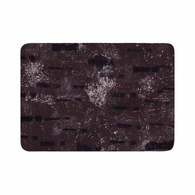 Iris Lehnhardt Tex Mix Abstract Memory Foam Bath Rug Size: 0.5 H x 24 W x 36 D, Color: Purple