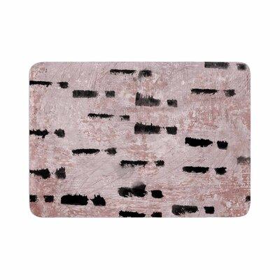 Iris Lehnhardt Texture and Pattern 1 Pattern Memory Foam Bath Rug Size: 0.5 H x 17 W x 24 D