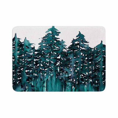 Ebi Emporium Forest Through the Trees 5 Memory Foam Bath Rug Size: 0.5 H x 24 W x 36 D