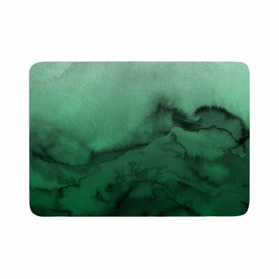 Ebi Emporium Winter Waves 7 Memory Foam Bath Rug Size: 0.5 H x 24 W x 36 D