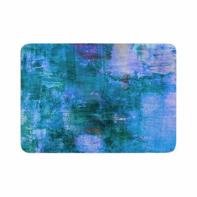 Ebi Emporium the Reef Memory Foam Bath Rug Size: 0.5 H x 17 W x 24 D