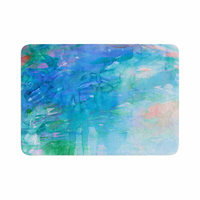Ebi Emporium Childlike Wonder Memory Foam Bath Rug Size: 0.5 H x 17 W x 24 D