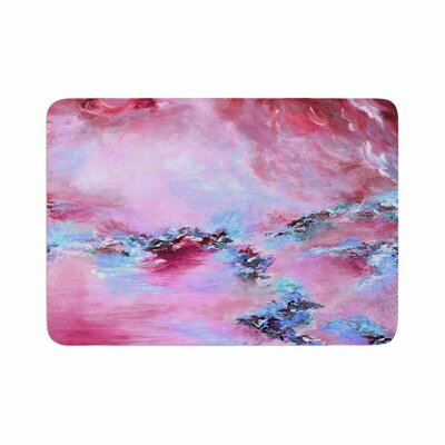 Ebi Emporium Sea to Sky 3 Abstract Memory Foam Bath Rug Size: 0.5 H x 24 W x 36 D
