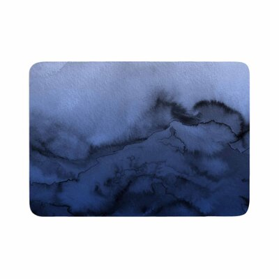 Ebi Emporium Winter Waves 3 Memory Foam Bath Rug Size: 0.5 H x 17 W x 24 D