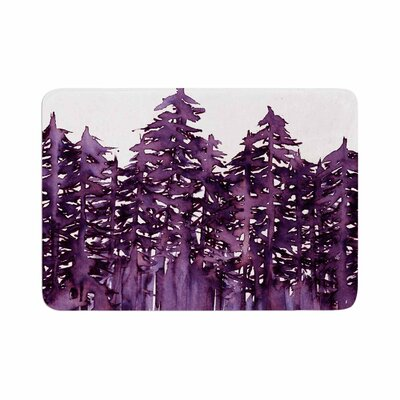 Ebi Emporium Forest Through the Trees 2 Memory Foam Bath Rug Size: 0.5 H x 17 W x 24 D