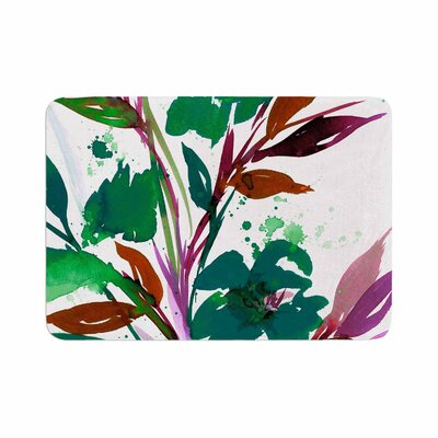 Ebi Emporium Pocket Full of Posies Memory Foam Bath Rug Size: 0.5 H x 17 W x 24 D