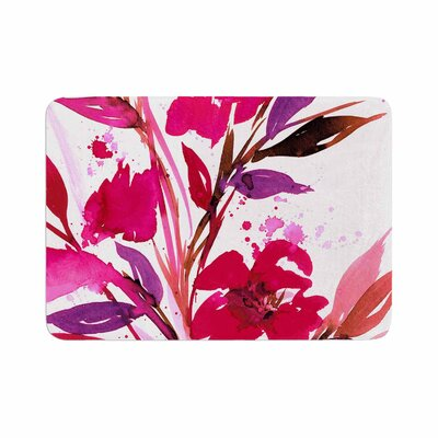 Ebi Emporium Pocket Full of Posies 11 Nature Memory Foam Bath Rug Size: 0.5 H x 17 W x 24 D