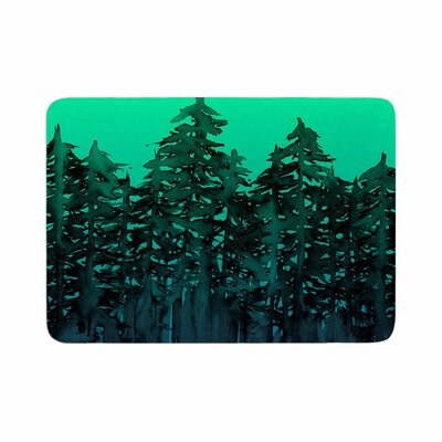 Ebi Emporium Forest Through the Trees 9 Memory Foam Bath Rug Size: 0.5 H x 17 W x 24 D