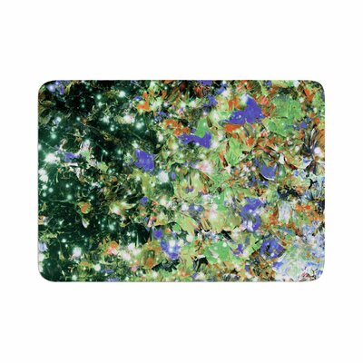 Ebi Emporium Into to the Night Memory Foam Bath Rug Size: 0.5 H x 17 W x 24 D