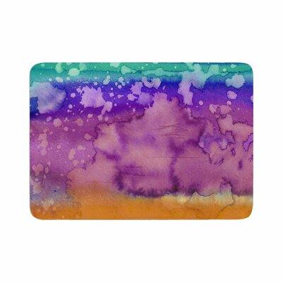Ebi Emporium California Surf 2 Memory Foam Bath Rug Size: 0.5 H x 17 W x 24 D