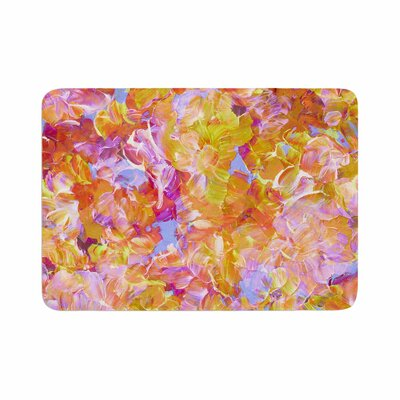 Ebi Emporium Bloom On! Memory Foam Bath Rug Size: 0.5 H x 17 W x 24 D