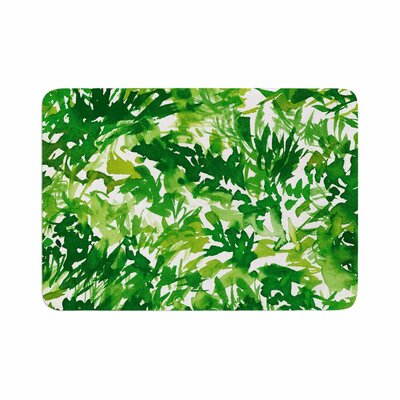 Ebi Emporium in the Meadow 1 Abstract Painting Memory Foam Bath Rug Size: 0.5 H x 17 W x 24 D