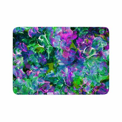Ebi Emporium Bloom On! Exotic Memory Foam Bath Rug Size: 0.5 H x 24 W x 36 D