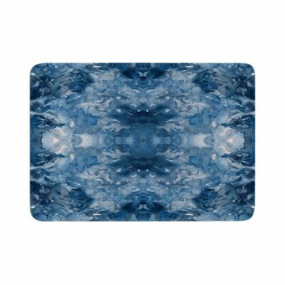 Ebi Emporium Tie Dye Helix Memory Foam Bath Rug