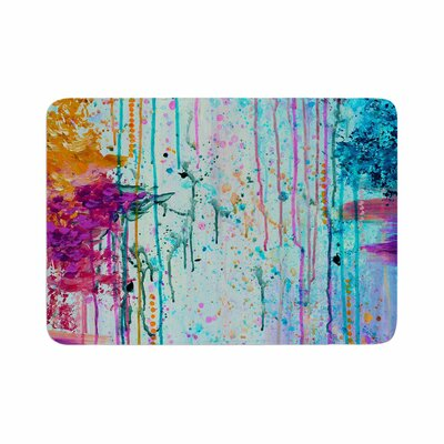 Ebi Emporium Happy Tears 3 Memory Foam Bath Rug Size: 0.5 H x 24 W x 36 D