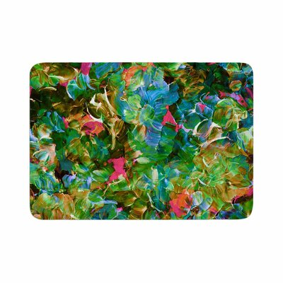 Ebi Emporium Bloom On! Tropical Memory Foam Bath Rug Size: 0.5 H x 17 W x 24 D